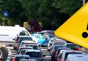 VIDEO - Trafic de cod roșu după ce școala a intrat în scenariul verde