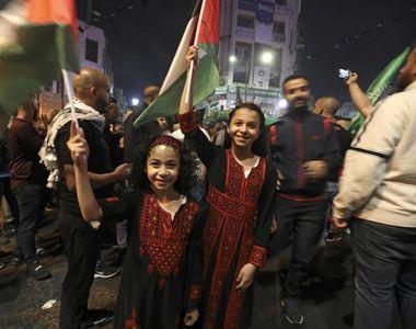 Acord de încetarea focului între Israel și gruparea Hamas. Mesajul președintelui SUA,...