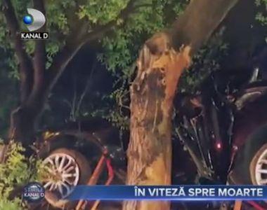 VIDEO| Accident devastator în Medgidia. Doi tineri au murit pe loc