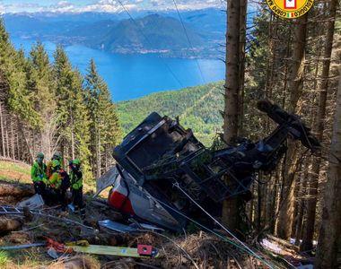 Tragedie: 13 persoane au murit după ce o cabină a unui teleferic s-a prăbuşit