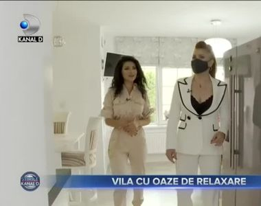 VIDEO - Acasă la Raluca Paraschiv - o vilă superbă în afara Bucureștiului
