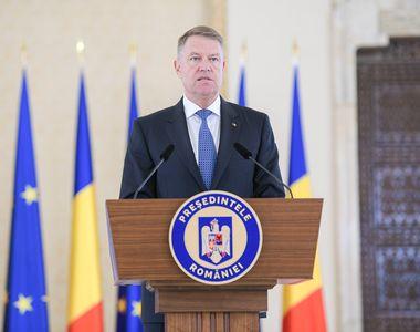 Președintele Iohannis participă la întrunirea extraordinară a Consiliului European de...