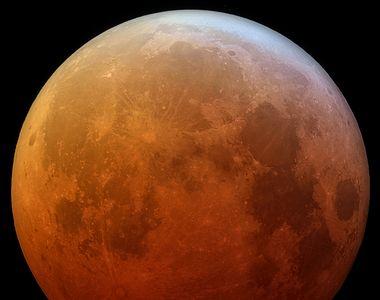 Eclipsă totală de Lună în 26 mai 2021. Unde va fi vizibil acest fenomen astronomic