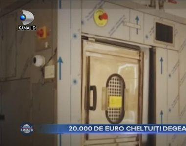 20.000 DE EURO, CHELTUIȚI DEGEABA