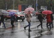 Avertizare METEO! Cod galben de ploi torențiale, grindină și descărcări electrice în 12 judeţe din țară