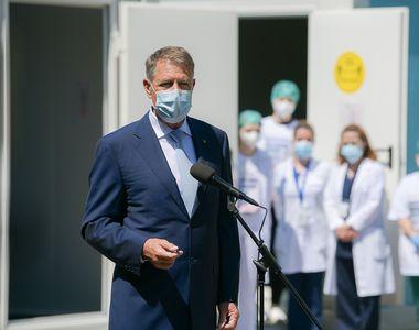 """Iohannis, mesaj de mulțumire pentru personalul medical: """"Aţi fost în prima linie...."""