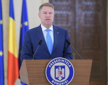 """Președintele Iohannis: """"De acum avem un obiectiv foarte precis, construirea României..."""