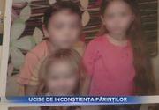 Trei surori omorâte de către mamă după ce le-a spălat cu o substanță toxică pe cap