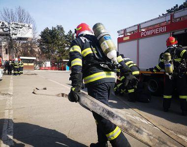 Alertă de incendiu la un spital în dimineața de vineri. 32 de pacienți au fost evacuați