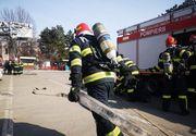 VIDEO | Incendiu uriaş! Pericol de explozie. Zeci de oameni evacuaţi