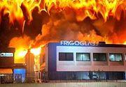 VIDEO | Incendiu devastator în vestul ţării