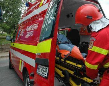 Mașină răsturnată pe Valea Prahovei. O persoană a murit pe loc