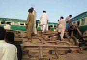 Cel puțin 30 de morți după ciocnirea a două trenuri