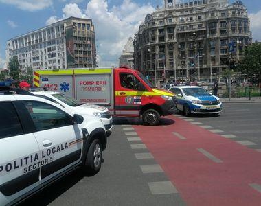 Alertă cu bombă la Curtea de Apel Bucureşti. Trafic restricţionat în zonă