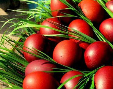 Când se vopsesc ouăle roşii pentru Înălţarea Domnului?
