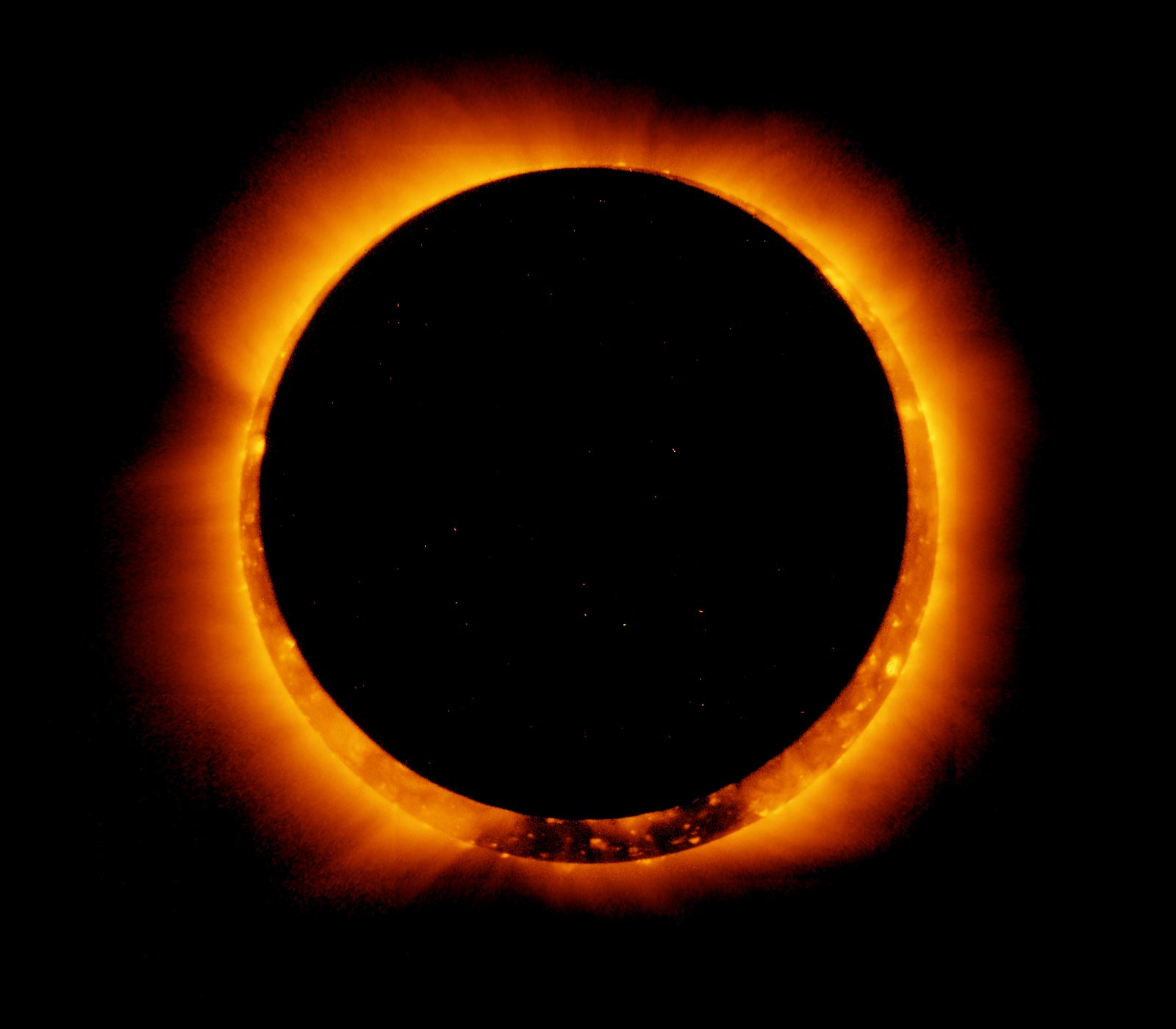 eclipsa afectează vederea)