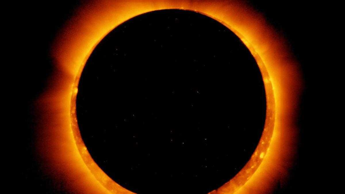 modul în care o eclipsă afectează vederea