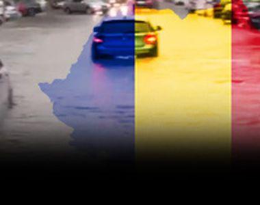 VIDEO - Întreaga țară va fi măturată de furtuni, până la finalul săptămânii