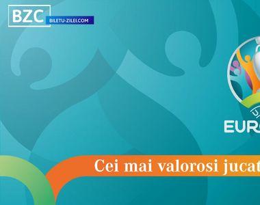 Cei mai valoroși jucători de la EURO 2021