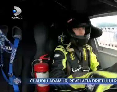 VIDEO - Cursă dură de drifturi, terminată cu locul întâi pentru Claudiu Adam