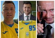 Lovitură de teatru înainte de startul EURO 2020. Ucraina, obligată de UEFA să modifice sigla anti-Rusia de pe tricouri