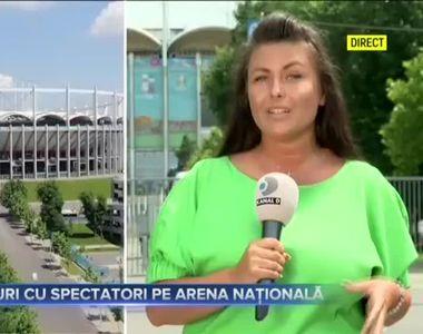 VIDEO - Patru meciuri din Campionatul European de Fotbal, la București