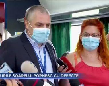 TRENURILE SOARELUI PORNESC CU DEFECTE