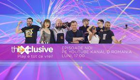 theXclusive este pe YouTube Kanal D România! Iată ce v-am pregătit zilele următoare! Fiți cu ochii pe noi!