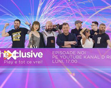 theXclusive este pe YouTube Kanal D România! Iată ce v-am pregătit săptămâna viitoare!...