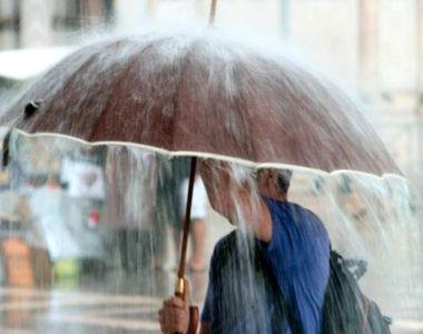 Alertă meteo: Ploi torențiale și vânt în următoarele ore - HARTA