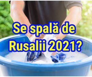 Se spală de Rusalii 2021? Ce spun preoții. Este sărbătoare mare în calendarul ortodox