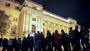 VIDEO - Haos la Noaptea Muzeelor: Cozi imense și spirite încinse