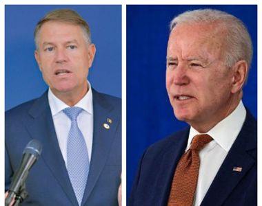 Klaus Iohannis, întâlnire cu liderul SUA, Joe Biden, la summit-ul NATO