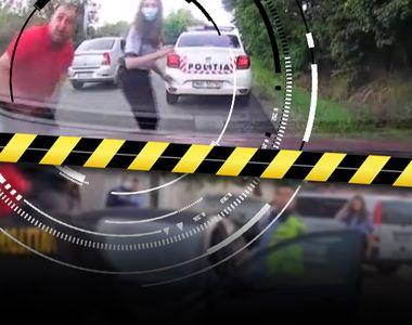 VIDEO - Activist bătut cu sălbăticie de infractori în fața unor polițiști