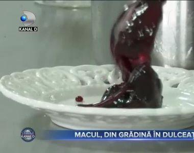 MACUL, DIN GRĂDINĂ, ÎN DULCEAȚĂ