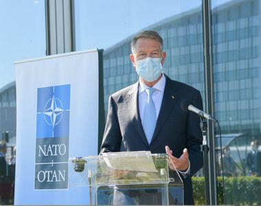 Iohannis: Sunt foarte convins că vom lucra foarte bine în NATO şi vom avea un nou...