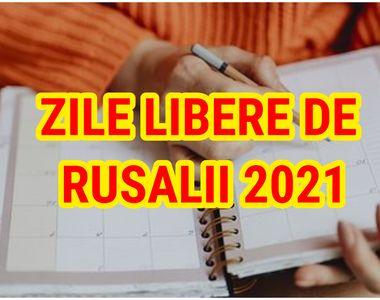 Zile libere de Rusalii 2021. Bucurie mare pentru angajații din România. Cât vor sta acasă
