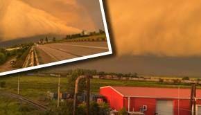 VIDEO -Nor ciudat în Buzău. Oamenii s-au crucit și au filmat fenomenul