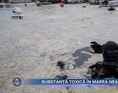 SUBSTANȚĂ TOXICĂ ÎN MAREA NEAGRĂ