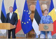 """Președintele Iohannis: """"Estonia este cu mult înaintea noastră în ce priveşte sisteme de e-guvernare, servicii digitale"""""""