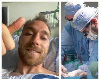 Euro 2020. Fotbalistul danez Christian Eriksen are nevoie de operație. Ce îi montează...
