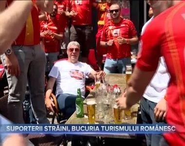 SUPORTERII STRĂINI, BUCURIA TURISMULUI ROMÂNESC