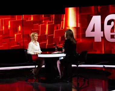 """Gabriela Firea, la """"40 de întrebări cu Denise Rifai"""" """"V-a amenințat Liviu Dragnea cu..."""