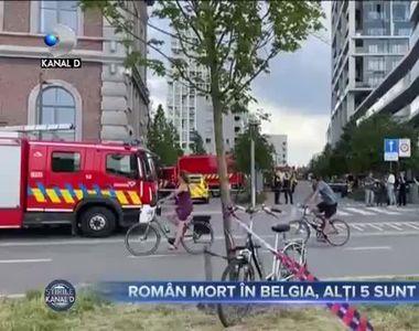 Tragedie în Belgia! Un român a murit şi alţi cinci sunt răniţi după ce o şcoală în...