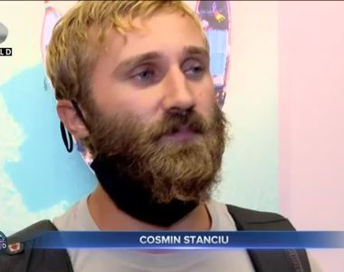 Faimosul Cosmin Stanciu s-a întors acasă