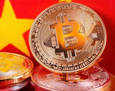 Bitcoin se prăbușește după o decizie dură luată de China