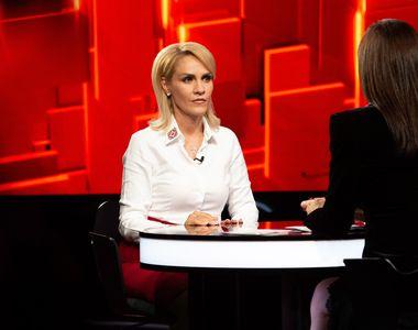 """Gabriela Firea, la """"40 de întrebări cu Denise Rifai"""", declarații în premieră!  """"Este..."""