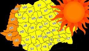 VIDEO - După ploi și vijelii, canicula lovește România zilele viitoare