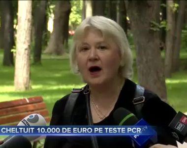 A CHELTUIT 10.000 DE EURO PE TESTE PCR