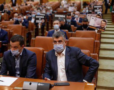 PSD a depus moțiunea de cenzură. Ce șanse sunt să cadă Guvernul